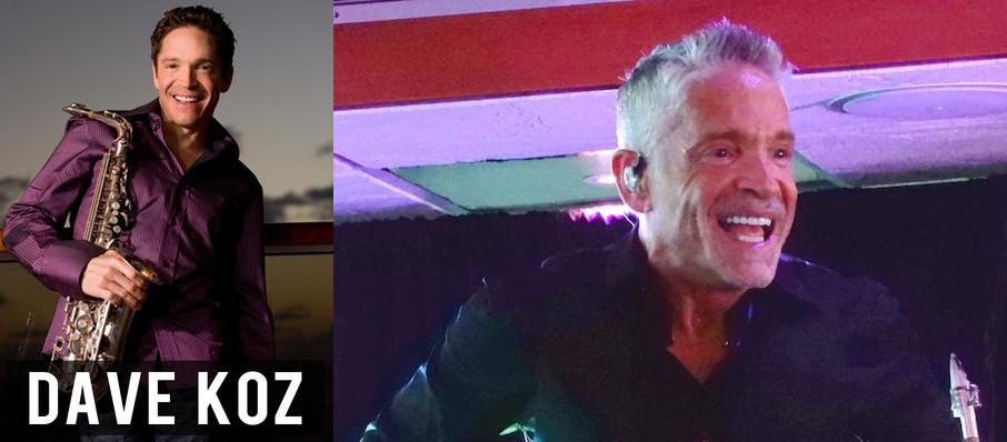 Dave Koz at Iroquois Amphitheater
