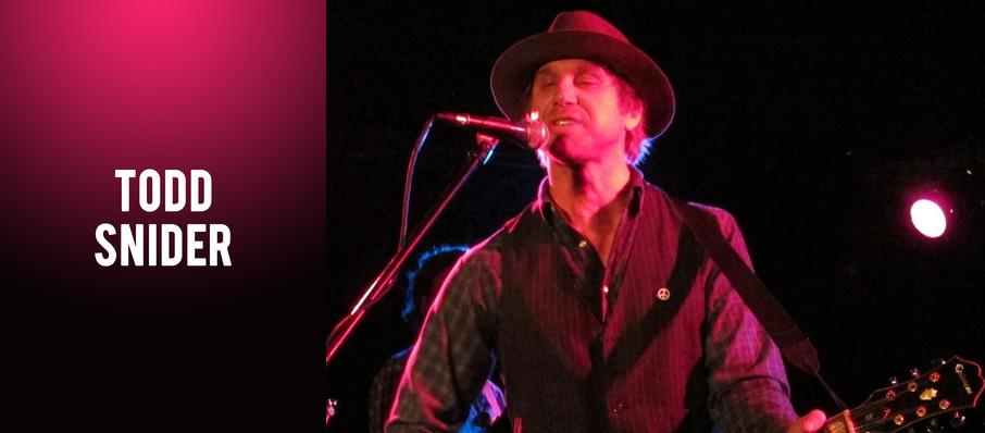 Todd Snider at Headliners