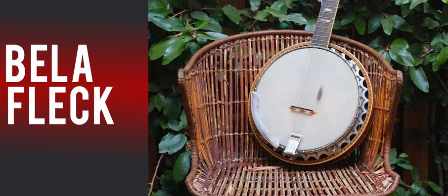 Bela Fleck at Bomhard Theatre