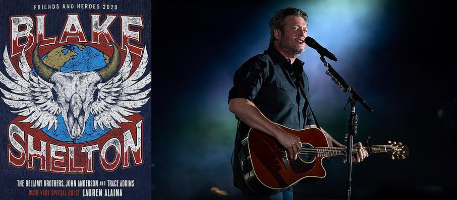 Blake Shelton at KFC Yum Center