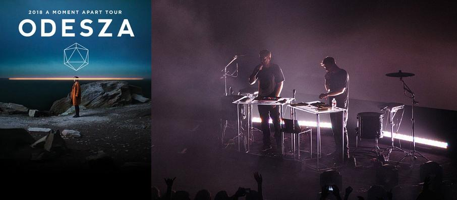 Odesza at Iroquois Amphitheater