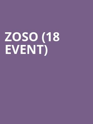 Zoso (18+ Event) at Headliners