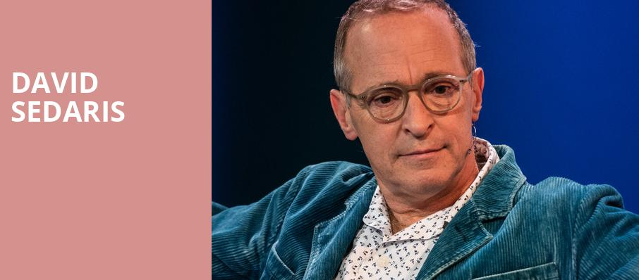 David Sedaris, Whitney Hall, Louisville