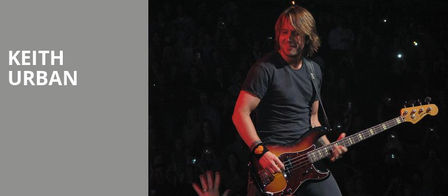 Keith Urban, KFC Yum Center, Louisville