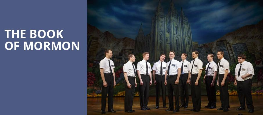 The Book of Mormon, Whitney Hall, Louisville